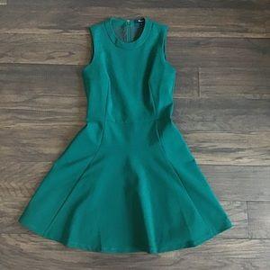 Madewell Green Dress Size 0
